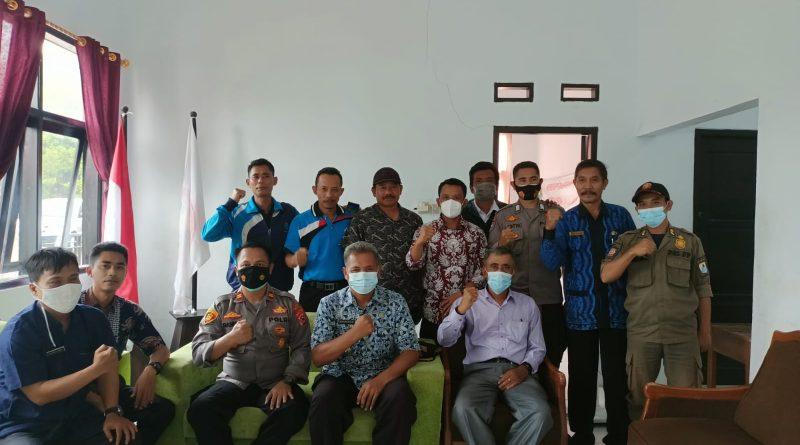 Kordinator Olahraga Kecamatan Cibeber Kabupaten Lebak Adakan Musyawarah program Kerja.